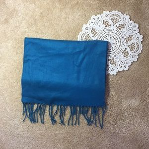 🧣Cashmere feel Teal Scarf
